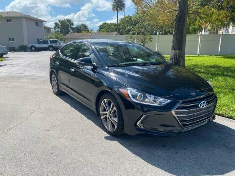 2017 Hyundai Elantra for sale at Car Girl 101 in Oakland Park FL