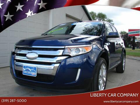 2012 Ford Edge for sale at Liberty Car Company - II in Waterloo IA