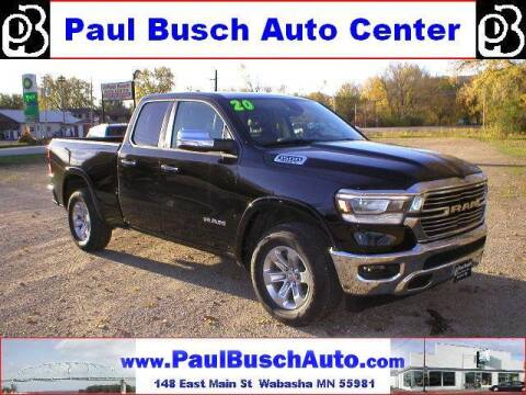 2020 RAM Ram Pickup 1500 for sale at Paul Busch Auto Center Inc in Wabasha MN
