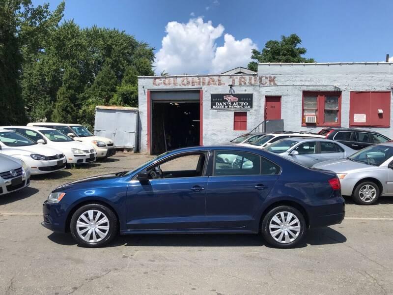 2012 Volkswagen Jetta for sale at Dan's Auto Sales and Repair LLC in East Hartford CT