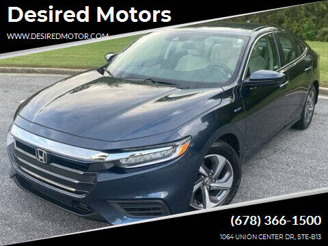 2019 Honda Insight for sale at Desired Motors in Alpharetta GA