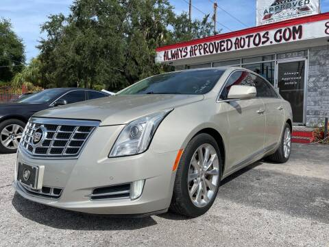 2013 Cadillac XTS for sale at Always Approved Autos in Tampa FL
