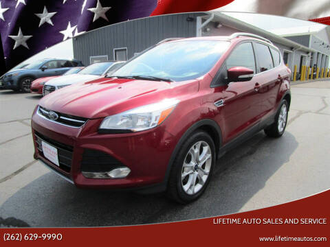 2016 Ford Escape for sale at Lifetime Auto Sales and Service in West Bend WI