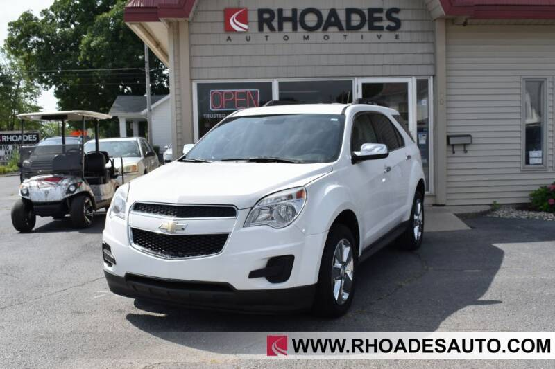 2015 Chevrolet Equinox for sale at Rhoades Automotive in Columbia City IN