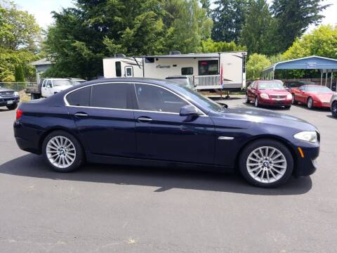 2011 BMW 5 Series for sale at ET AUTO II INC in Molalla OR