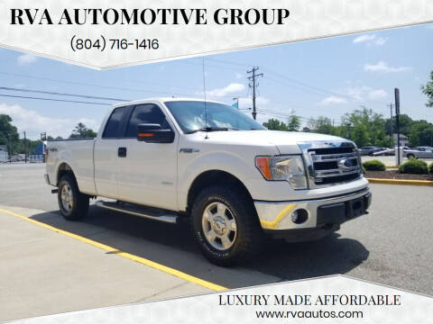 2014 Ford F-150 for sale at RVA Automotive Group in North Chesterfield VA