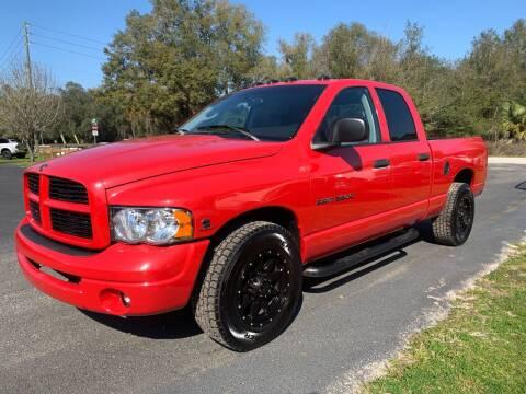 2003 Dodge Ram Pickup 3500 for sale at Gator Truck Center of Ocala in Ocala FL