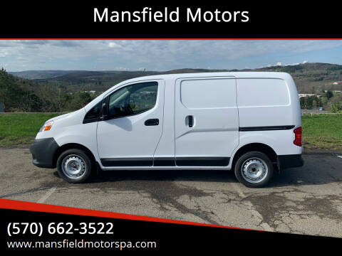 2019 Nissan NV200 for sale at Mansfield Motors in Mansfield PA