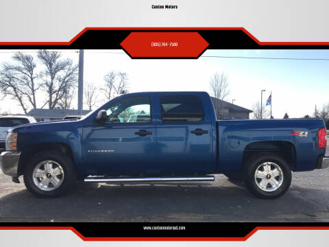 2012 Chevrolet Silverado 1500 for sale at Canton Motors in Canton SD