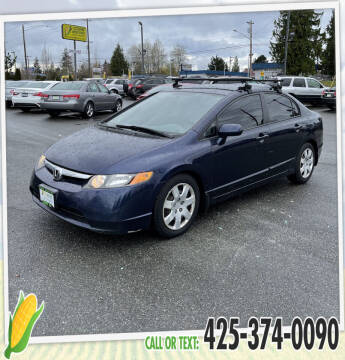 2007 Honda Civic for sale at Corn Motors in Everett WA
