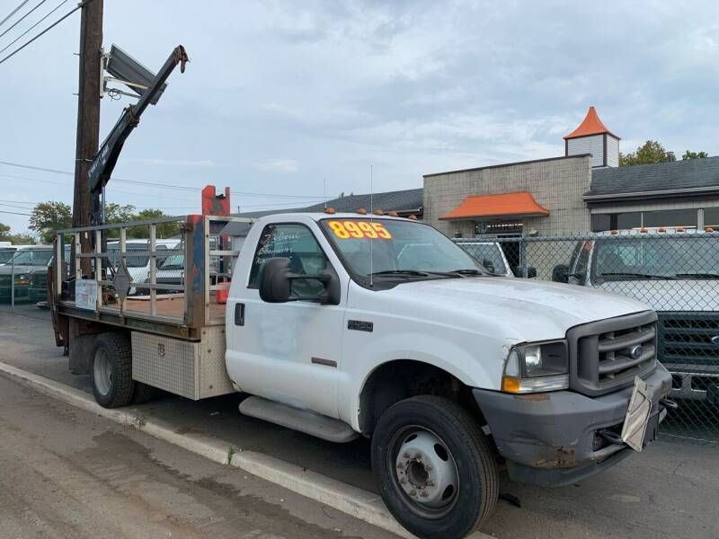 2004 Ford F-450 Super Duty for sale at MONTAGANO BROTHERS INC in Burlington NJ