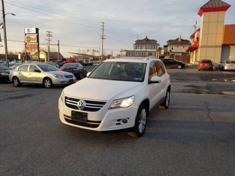 2011 Volkswagen Tiguan for sale at 25TH STREET AUTO SALES in Easton PA