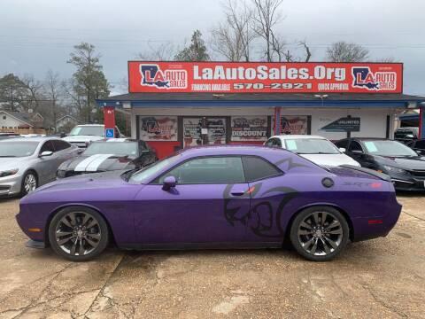 2013 Dodge Challenger for sale at LA Auto Sales in Monroe LA