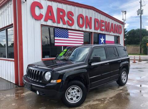2016 Jeep Patriot for sale at Cars On Demand 3 in Pasadena TX