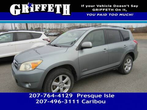 2007 Toyota RAV4 for sale at Griffeth Mitsubishi - Pre-owned in Caribou ME