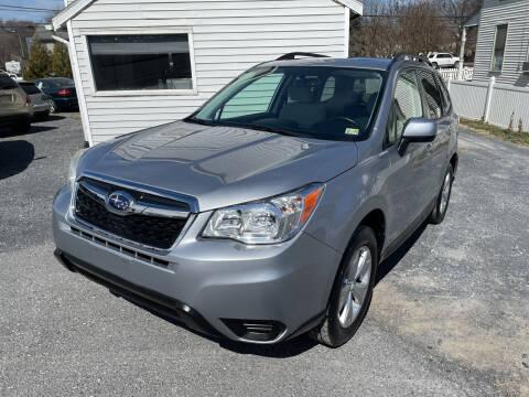 2014 Subaru Forester for sale at Village Auto Center INC in Harrisonburg VA