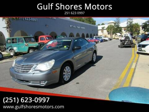 2008 Chrysler Sebring for sale at Gulf Shores Motors in Gulf Shores AL