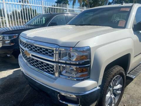 2014 Chevrolet Silverado 1500 for sale at America Auto Wholesale Inc in Miami FL