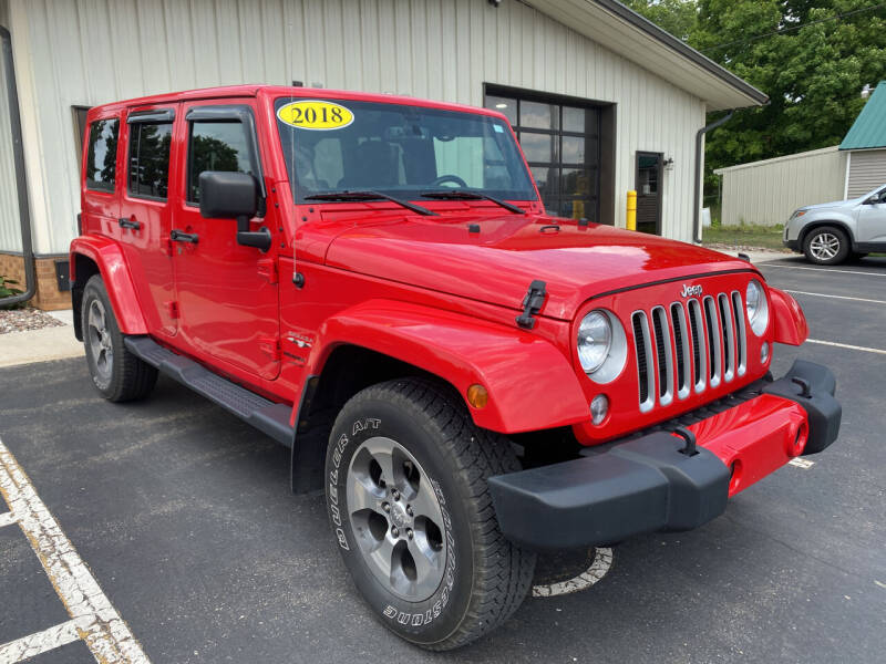 2018 Jeep Wrangler JK Unlimited for sale at Kubly's Automotive in Brodhead WI