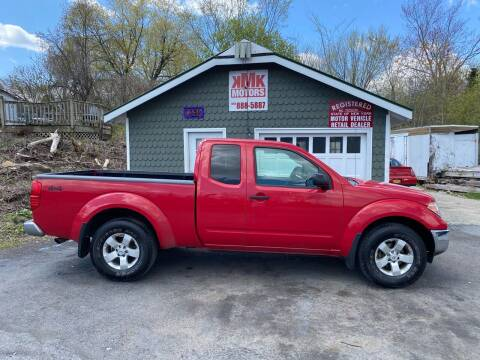 2009 Nissan Frontier for sale at KMK Motors in Latham NY