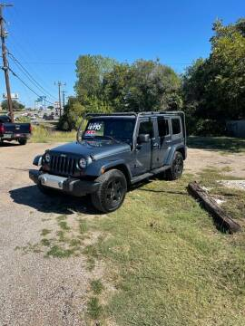 2008 Jeep Wrangler Unlimited for sale at Holders Auto Sales in Waco TX