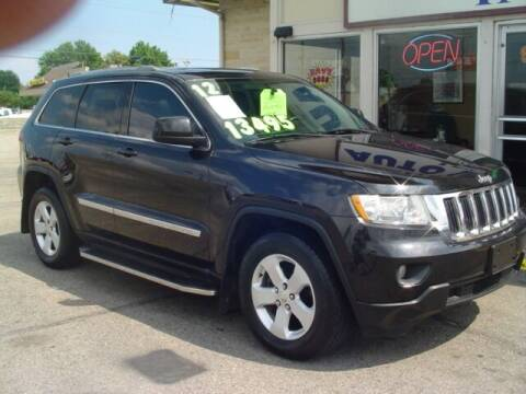 2012 Jeep Grand Cherokee for sale at G & L Auto Sales Inc in Roseville MI