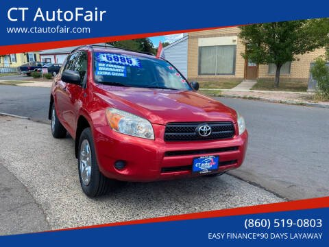 2007 Toyota RAV4 for sale at CT AutoFair in West Hartford CT