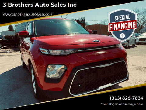 2020 Kia Soul for sale at 3 Brothers Auto Sales Inc in Detroit MI