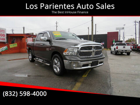 2016 RAM Ram Pickup 1500 for sale at Los Parientes Auto Sales in Houston TX