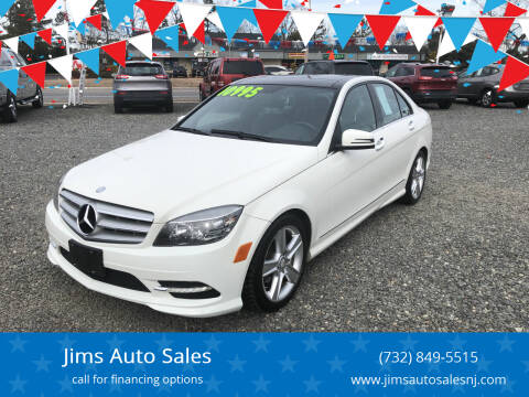 2011 Mercedes-Benz C-Class for sale at Jims Auto Sales in Lakehurst NJ