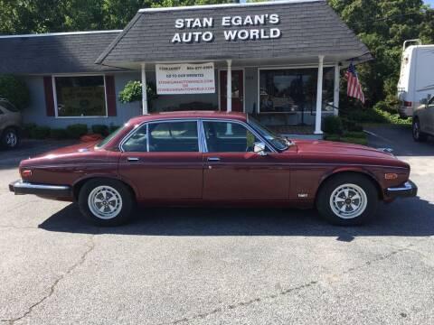 1985 Jaguar XJ-Series for sale at STAN EGAN'S AUTO WORLD, INC. in Greer SC