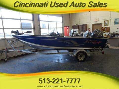 2015 Alumacraft Classic 165 for sale at Cincinnati Used Auto Sales in Cincinnati OH