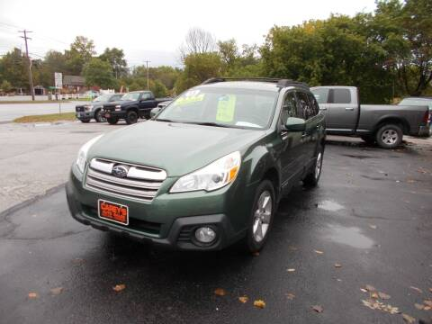 2013 Subaru Outback for sale at Careys Auto Sales in Rutland VT