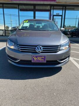 2012 Volkswagen Passat for sale at Kinston Auto Mart in Kinston NC