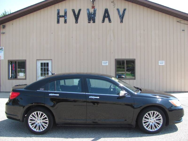 2013 Chrysler 200 for sale at HyWay Auto Sales in Holland MI
