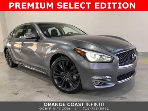 2018 Infiniti Q70L for sale at ORANGE COAST CARS in Westminster CA