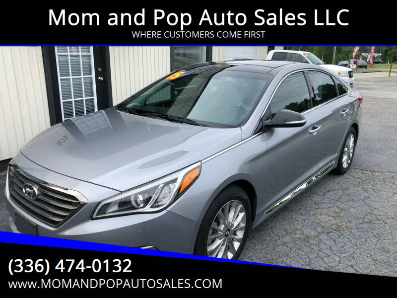 2015 Hyundai Sonata for sale at Mom and Pop Auto Sales LLC in Thomasville NC