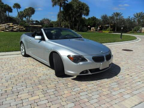 2007 BMW 6 Series for sale at AUTO HOUSE FLORIDA in Pompano Beach FL