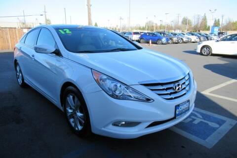2012 Hyundai Sonata for sale at Choice Auto & Truck in Sacramento CA