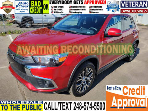 2018 Mitsubishi Outlander Sport for sale at North Oakland Motors in Waterford MI