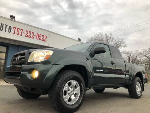 2009 Toyota Tacoma for sale at Trimax Auto Group in Norfolk VA