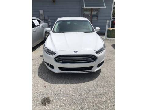 2016 Ford Fusion for sale at My Value Car Sales in Venice FL