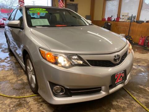 2014 Toyota Camry for sale at Zs Auto Sales in Kenosha WI