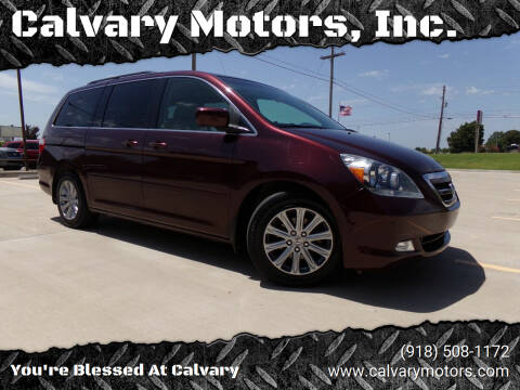 2007 Honda Odyssey for sale at Calvary Motors, Inc. in Bixby OK