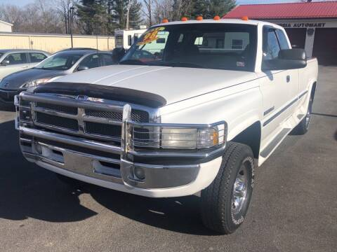 1998 Dodge Ram Pickup 2500 for sale at Alexandria Auto Mart LLC in Alexandria PA