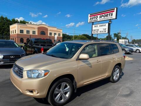 2008 Toyota Highlander for sale at Auto Sports in Hickory NC