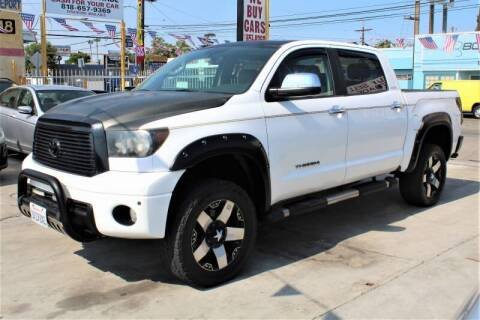 2010 Toyota Tundra for sale at Good Vibes Auto Sales in North Hollywood CA