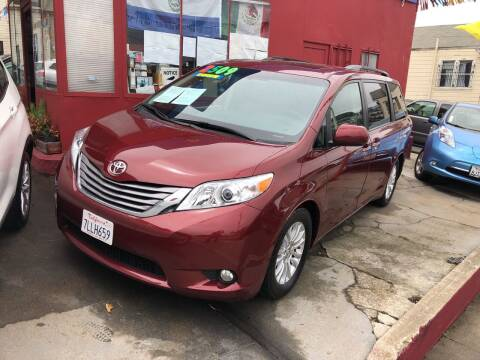 2015 Toyota Sienna for sale at Excelsior Motors , Inc in San Francisco CA