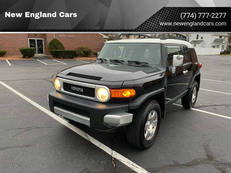 2007 Toyota FJ Cruiser for sale at New England Cars in Attleboro MA