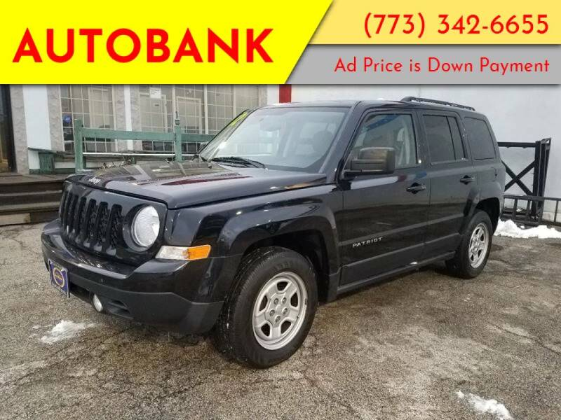 2012 Jeep Patriot for sale at AutoBank in Chicago IL
